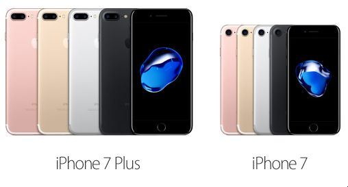 iPhone7 iPhone7 Plus 9月16日発売