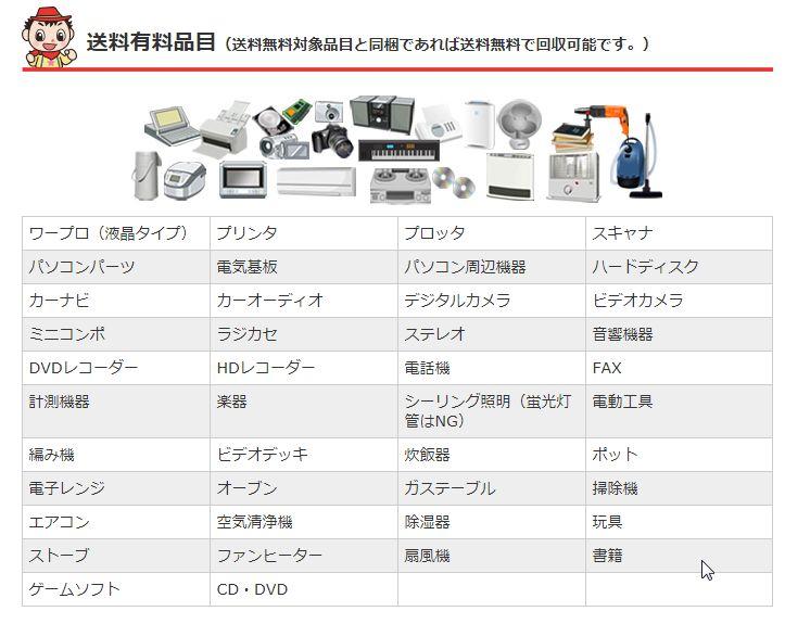 不要な家電製品を無料で処分する方法